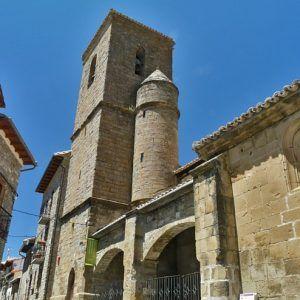 Iglesia de San Martín de Tours, Artieda (Zaragoza)- Archivo del Gobierno de Aragón