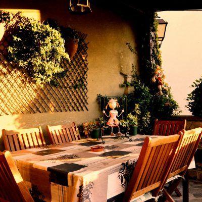 Terraza para disfutar de una cena o desayuno con vistas privilegiadas