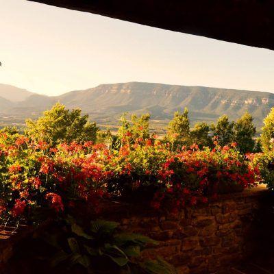 Hermosos atardeceres desde la terraza desde los que podréis disfutar en la casa