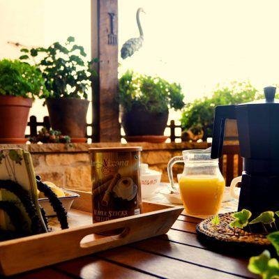 Desayunos de ensueño en la terraza de Casa Pedro